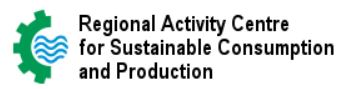 Regional Activity Centre for Sustainable Consumption and Production logo