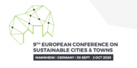 9th EUROPEAN CONFERENCE  ON SUSTAINABLE CITIES AND TOWNS logo