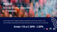 Webinar on Blockchain for Circular Economy actors