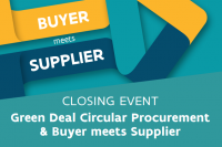 buyer meets supplier green deal circular procurement