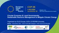 COP26 Local govt event