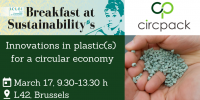 Join the final event for the CIRC-PACK project - Breakfast at Sustainability's