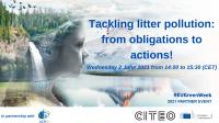Tackling litter pollution