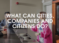 What can cities, companies and citizens do?