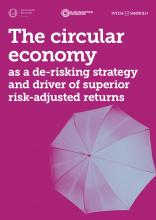 The circular economy as a de-risking strategy and driver of superior risk-adjusted returns