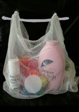 Cotton gauze grocery bag