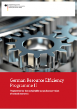German Resource Efficiency Programme II: Programme for the sustainable use and conservation of natural resources