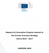 Report on H2020 R&I projects supporting the transition to a Circular Economy