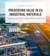 Preserving value in EU industrial materials