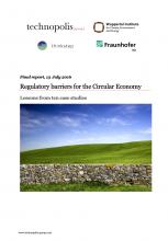 Regulatory Barriers for CE cover page