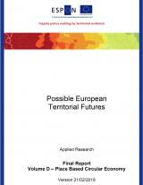 Cover page ESPON Futures Circular Economy