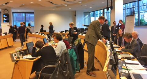 Working session in Brussels