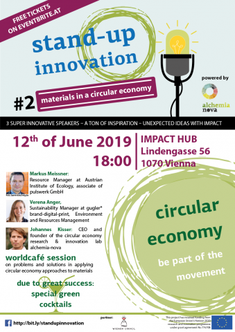 Stand up innovation on circular economy with nature-based solutions