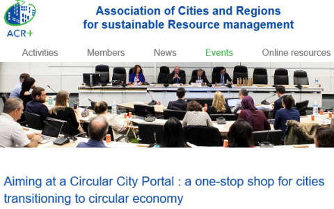 ACR+ - one-stop shop for cities in transit to CE