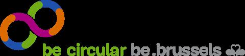 be circular be.brussels logo