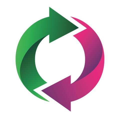 Circular economy arrows