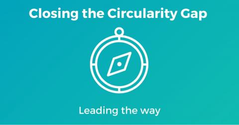 closing the circularity gap logo