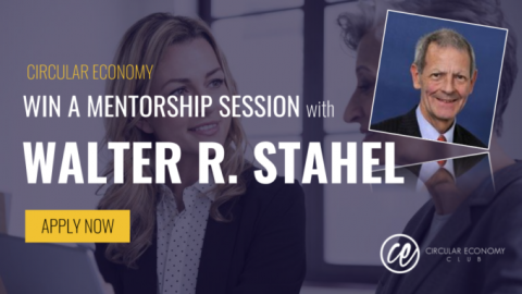 CEC is offering the opportunity for a promising talent to receive 1-on-1 mentoring from Prof. Walter R. Stahel, one of the fathers of the circular economy
