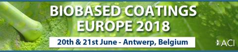 Biobased Coatings Europe 2018