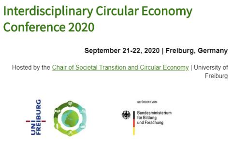 interdisciplinary circular economy conference 2020