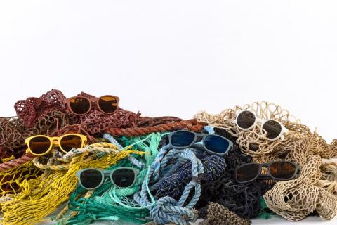 Karun sunglasses and fishing nets