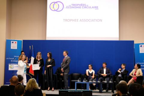Cérémonie de remise des Trophées de l'économie circulaire 2018