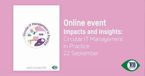Online event Impacts and Insights: Circular IT Management in Practice