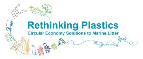 Rethinking Plastics logo