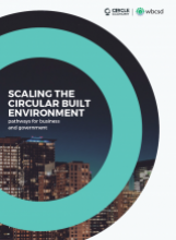 Scaling the circular built environment