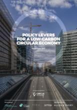 Policy levers for a low-carbon circular economy - Circle Economy, The Netherlands